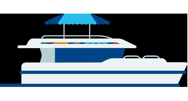 Horizon boot terug verkopen