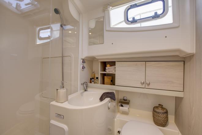 Privébadkamer in de hut