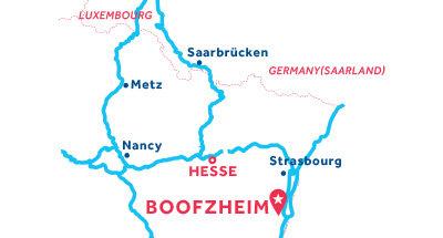 Kaart van de basis in Boofzheim