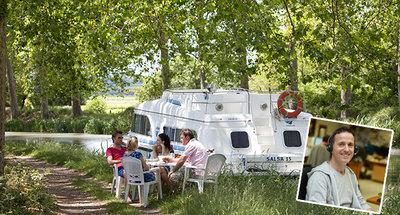Adviezen over het Canal du Midi door Le Boat medewerker Patrice