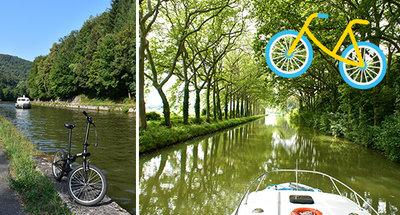 Langs Canal du Midi fietsen