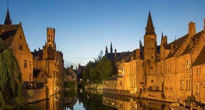 Brugge, romantische binnenstad