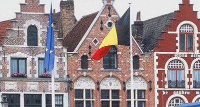 Belgische vlag en gevel, Vlaanderen
