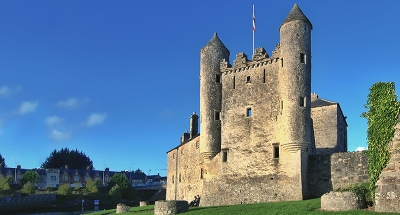 Enniskillen kasteel in Ierland