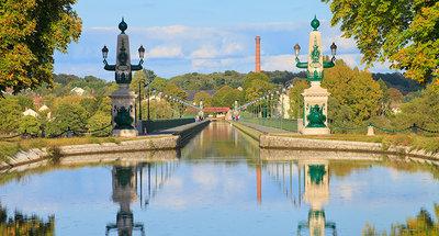 Het beroemde Briare aquaduct