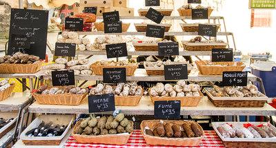 Traditionele Franse markt