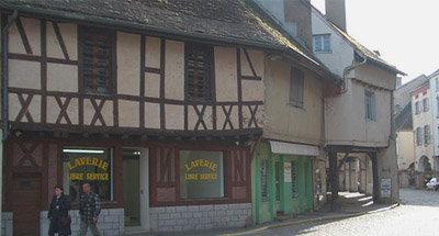 Vakwerkhuizen in Bourgondië