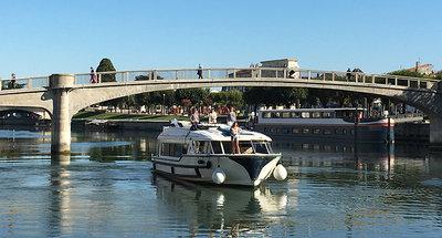 Vision vaart op de Charente