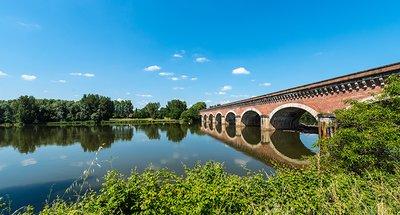 Historische brug in Nérac