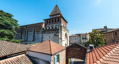 Oud stadscentrum van Le Mas d'Agenais