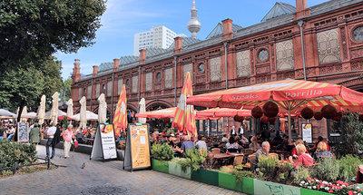 Al fresco dineren in Berlijn