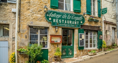 Klassiek Frans restaurant in Vézelay