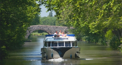 Vision boot op het Canal du Midi