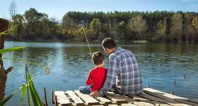 Relaxen en vissen