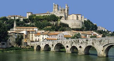 Béziers, stad in Zuid-Frankrijk