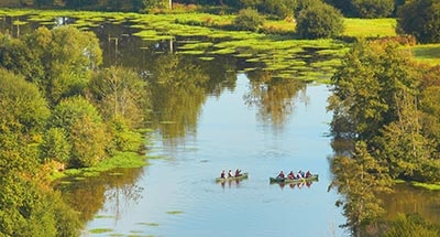 Canoeing in Brittany