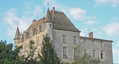Hamel kasteel, Castets-en-Dorthe, Aquitanië