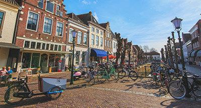 Fietsers in Nederland