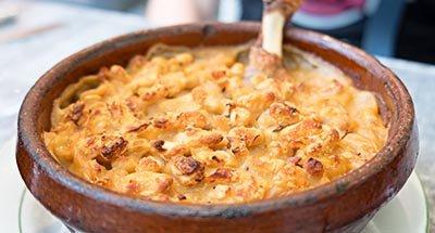 Cassoulet, lokale specialiteit van Castelnaudary
