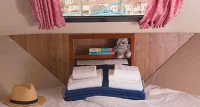 Hutten en badkamers Minuetto 8+