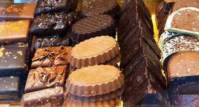 Lekkere belgische chocolade