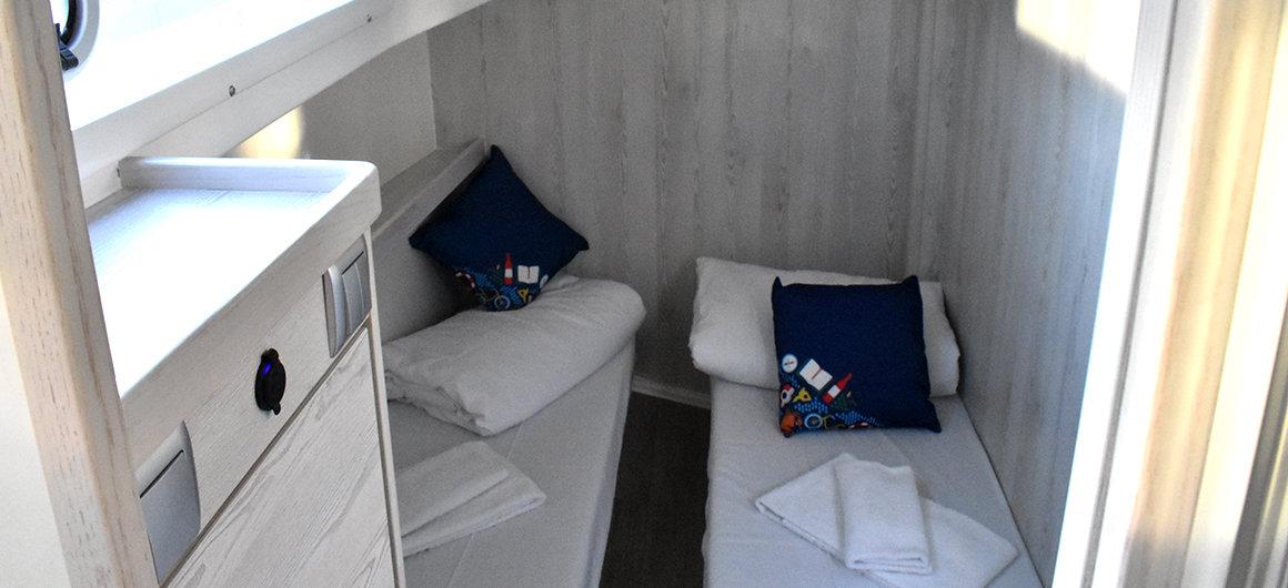Horizon 5  - side cabin