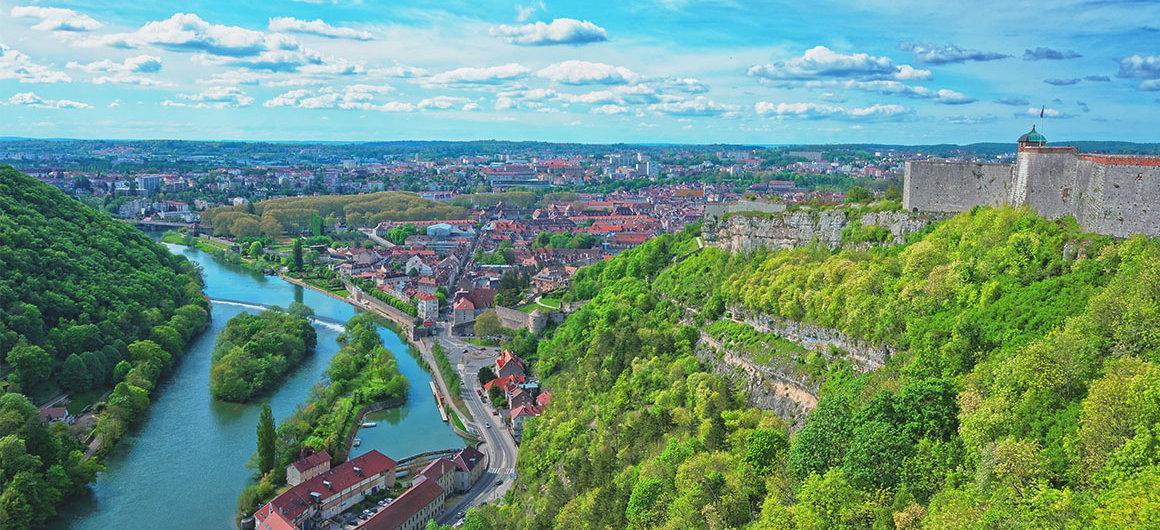 Besançon in Bourgondië