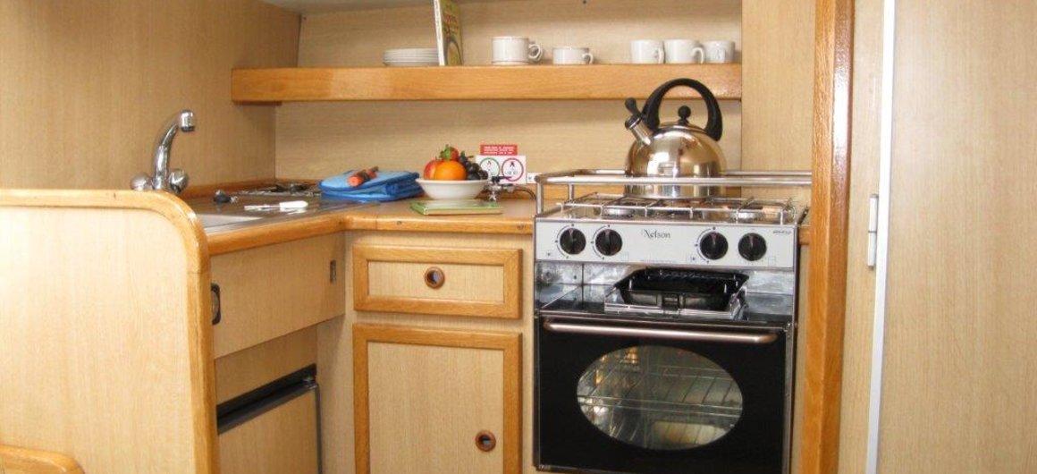 Capri WHS - keuken
