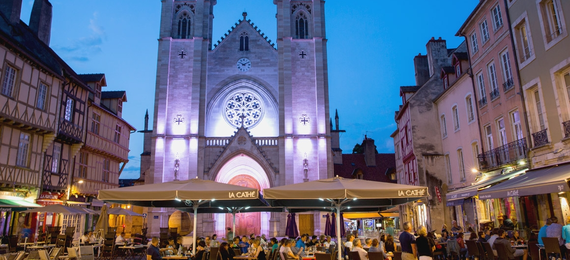 St. Vincent kathedraal in Chalon-sur-Saone