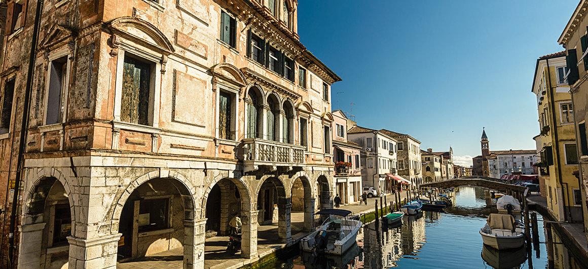 Kuststad van Chioggia