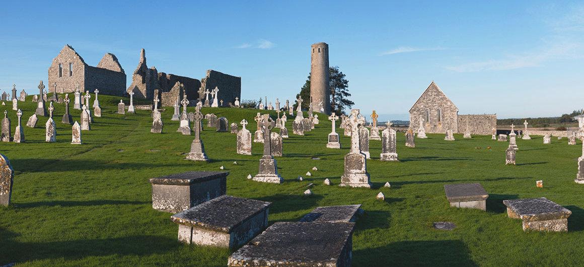 Clonmacnoise, Ierland