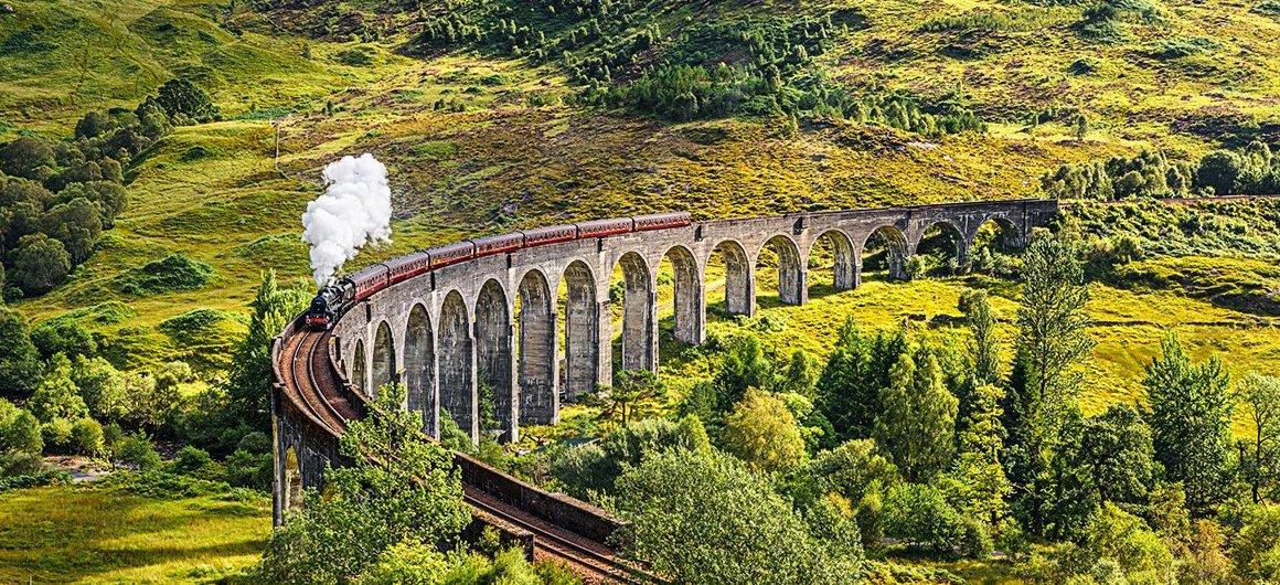 Glenfinnan trein