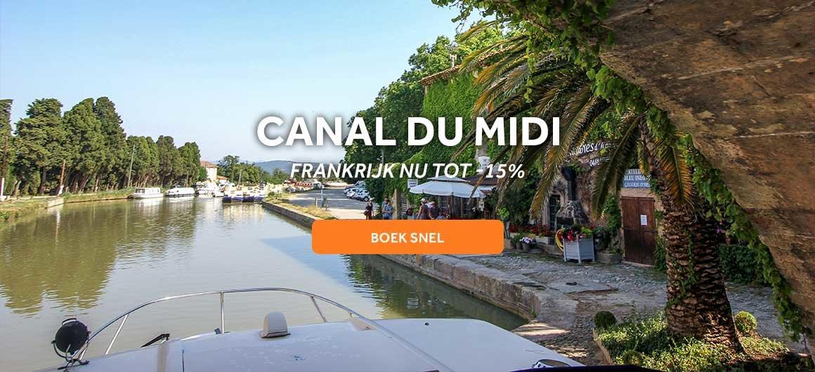 Canal du Midi, Frankrijk -15%
