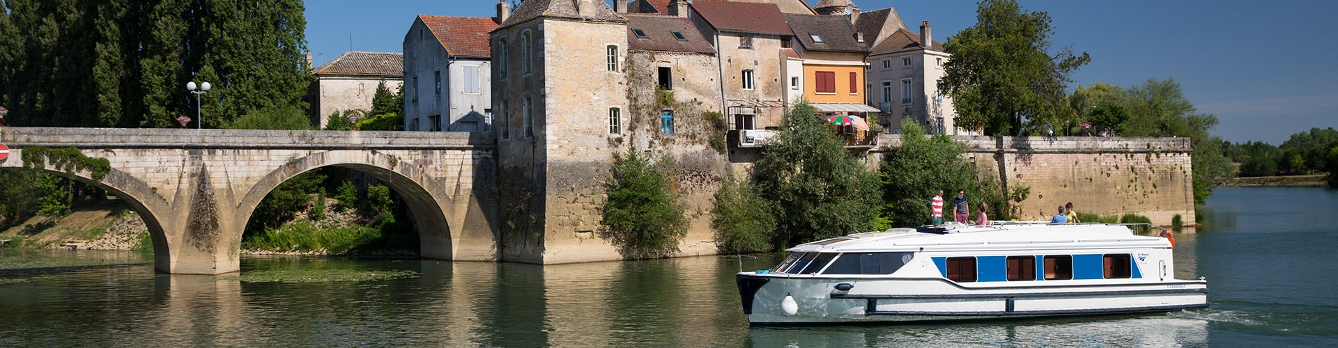 Rivierboot Vision in Bourgondië
