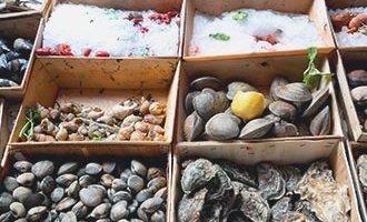 Fruits de mer à Rochefort